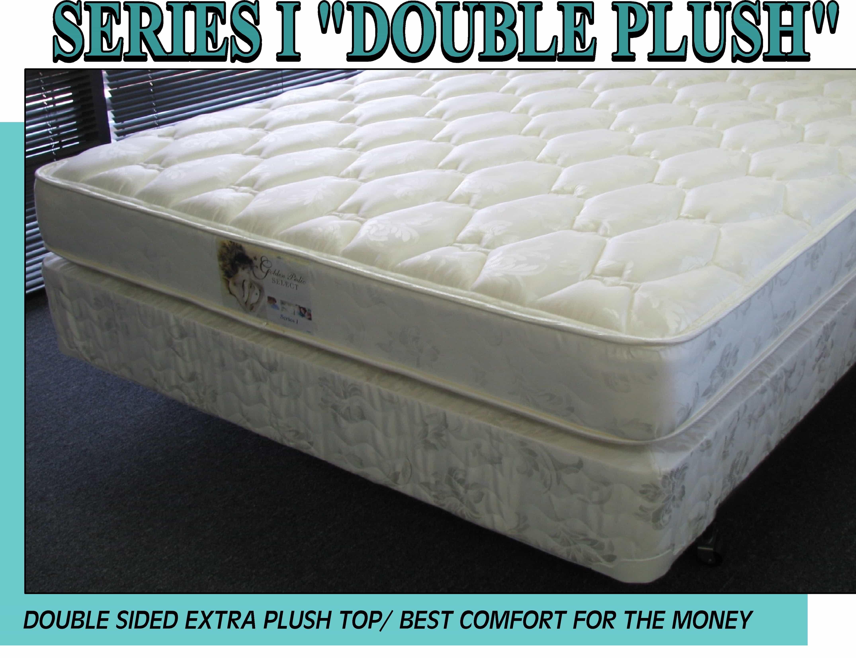 Series I Queen Mattress Plush Double Sided Set Mcallen Furniture